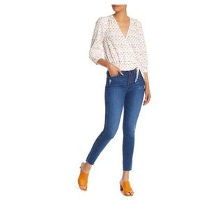 Madewell High Rise Distressed Skinny Jeans Size 32